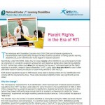 NCLD Guide: Parent Rights in the Era of RTI