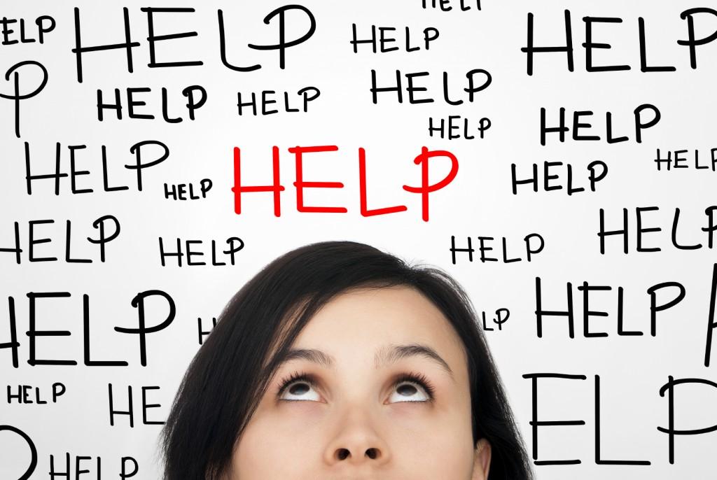 Girl wondering how to get help